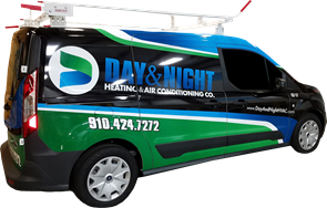 Day & Night Heating & Air Conditioning Co. Van